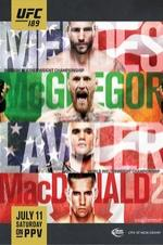 Ufc 189 Mendes Vs. Mcgregor